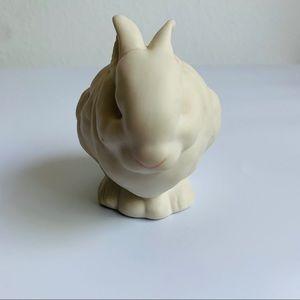 Vintage Accents - Vintage Cybis White Rabbit